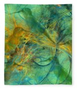 Hummingbirds Fleece Blanket