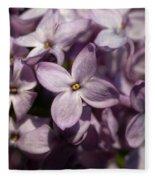 Hungarian Lilac Nr 9 Fleece Blanket