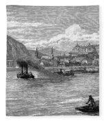 Hungary: Budapest, 1886 Fleece Blanket