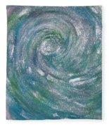Hurricane Of Light Fleece Blanket