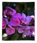 Hyacinth Bean Fleece Blanket
