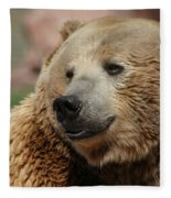 I Am Smiling Fleece Blanket