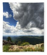 I Can Touch The Sky  Fleece Blanket