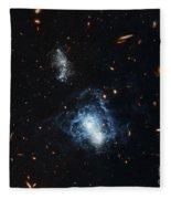 I Zwicky 18 Galaxy Fleece Blanket
