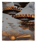 Icarus' New Wings Fleece Blanket
