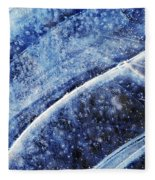 Ice Blue Fleece Blanket