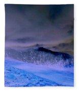 Ice Blue Stone Fleece Blanket