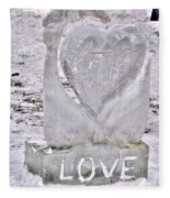 Ice Cold Love Fleece Blanket