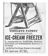 Ice Cream Freezer, 1872 Fleece Blanket