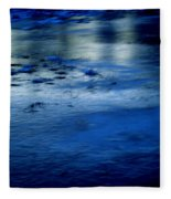 Ice Frost And Snow Fleece Blanket