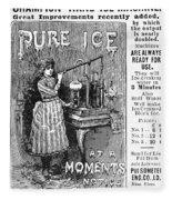 Ice Machine, 1891 Fleece Blanket