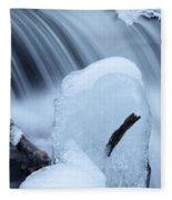 Ice Tombstone Frozen In Time Fleece Blanket