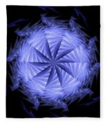 Ice Wheel Fleece Blanket