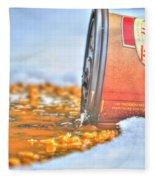 Iced Cap Fleece Blanket