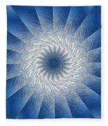 Icy Mandala 7 Fleece Blanket