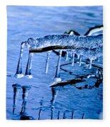 Icy Reflections Fleece Blanket