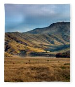 Idaho Foothills Fleece Blanket