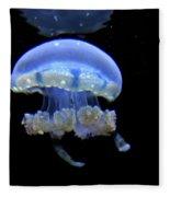 Illuminated Jellyfish  Fleece Blanket