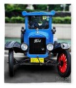 I'm Cute - 1922 Model T Ford Fleece Blanket
