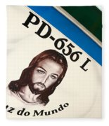 Image Of Jesus Fleece Blanket