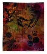 Imagining The Orient II Fleece Blanket
