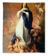 Immaculate Conception Of The Escorial Fleece Blanket