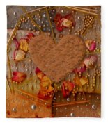 In Cookie And Bread Style Fleece Blanket