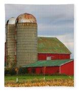 In Farmer's Field Fleece Blanket