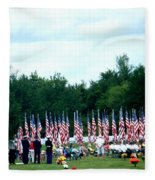 In Remembrance Of 9-11 Fleece Blanket