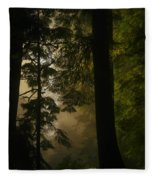 In Soft Shades Of Paradise Fleece Blanket