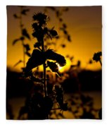 In Sunset's Glow Fleece Blanket