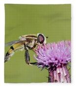 In The Bloom Fleece Blanket