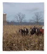 In The Corn 2 Fleece Blanket