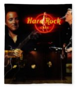 In The Hard Rock Cafe Fleece Blanket