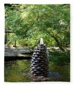In The Midst Of The Golden Pond Fleece Blanket