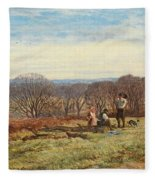 In The New Forest Fleece Blanket