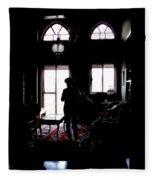 In The Shadows Fleece Blanket
