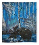 In The Still Of The Night Series 1 Fleece Blanket