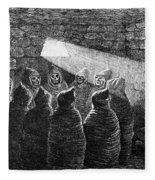 Inca Tomb: Chulpa Fleece Blanket