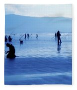 Inch Beach, Dingle Peninsula, County Fleece Blanket