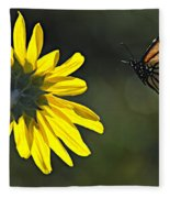 Incoming Monarch Fleece Blanket