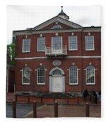 Independence Hall Philadelphia I Fleece Blanket