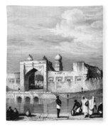 India: Bijapur, C1860 Fleece Blanket