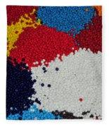 Indian Beads Fleece Blanket