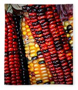 Indian Corn Fleece Blanket