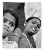 Indian Girls Fleece Blanket