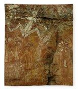 Indigenous Art Australia 2 Fleece Blanket
