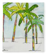 Inked Palms Fleece Blanket