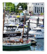Inner Harbour Fleece Blanket