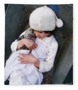 Innocence Is Bliss Fleece Blanket